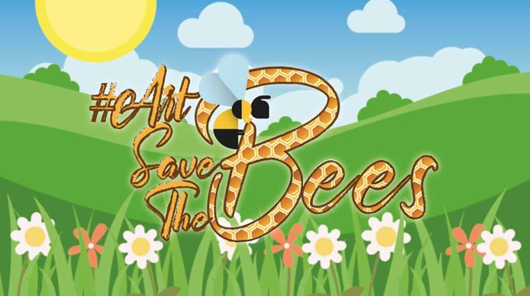 art save the bees